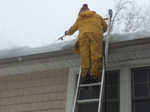 Ice Dam Removal Services - New Jersey