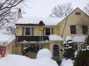 Ice Dam and Roof Snow Removal Services in NJ