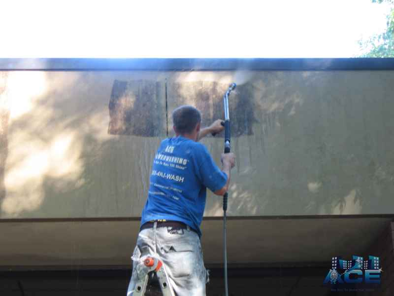 Low Pressure Cleaning of concrete in Madison, NJ