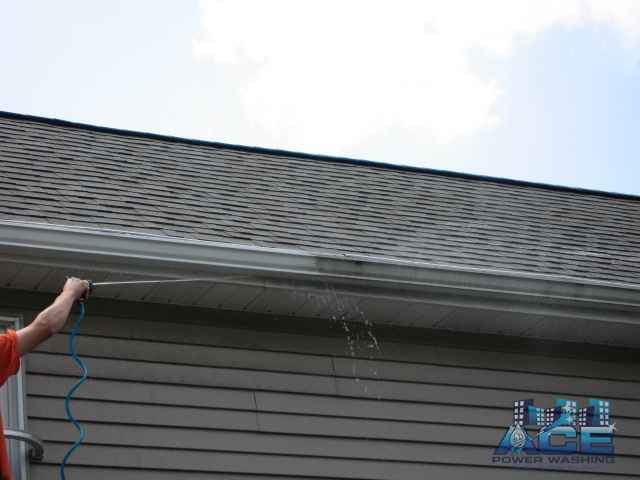Exterior Gutter Whitening in Westwood, NJ