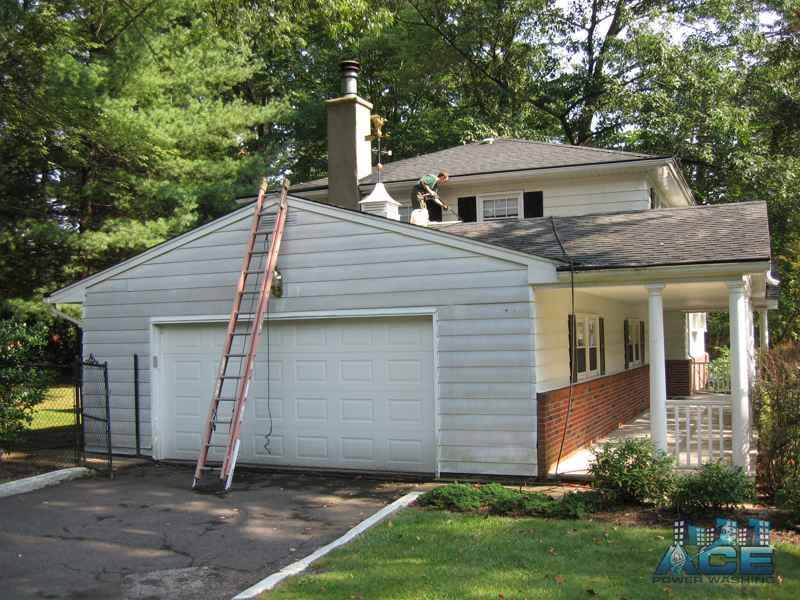 Exterior Painting of Aluminum Siding in River Vale, NJ