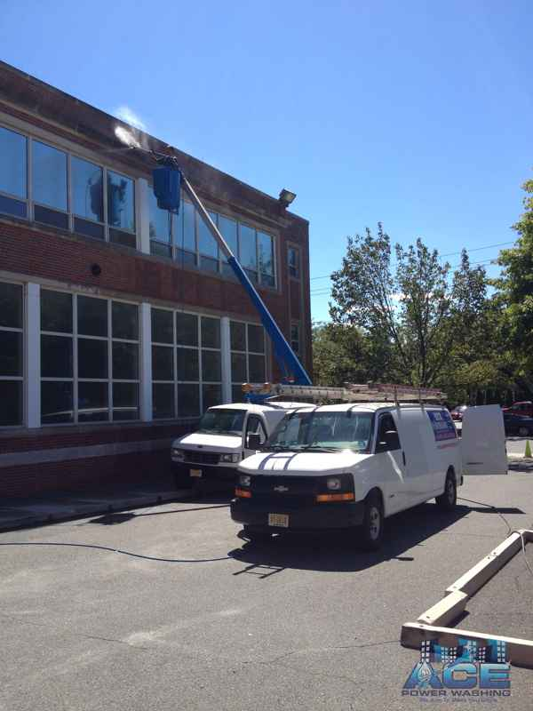 Exterior Church Cleaning using Power Washing Services in Tenafly, NJ